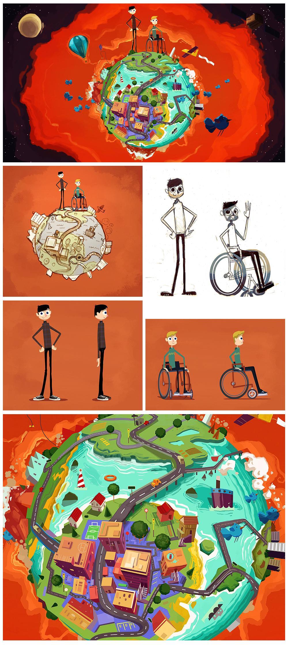 Diseño de Personajes Diseño de Personajes