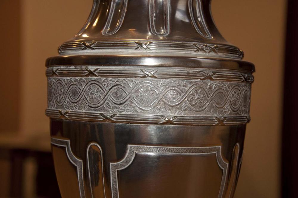 Replica Copa Para el modelado de la Copa, se tomaron fotografías de alta definición. Las tomas también fueron utilizadas para la textura final.
